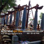 Chân tảng đá kê cột tại Nam Định
