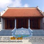 Nhà thờ họ, từ đường đá tại Nam Định
