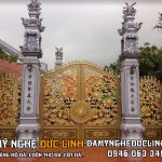 Làm cột đá đẹp tại nam Định