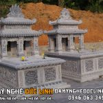 Mộ đá đôi đẹp tại Nam Định