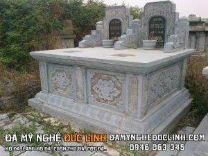 mộ đá đôi tại nam định