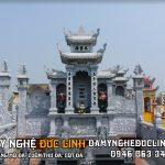Thiết kế lăng mộ đá tại Nam Định
