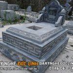 Mộ đá hậu bành tại Nam Định