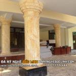 Chân cột trụ đá hoa cương tại Nam Định